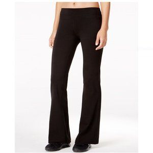 Ideology Flex Stretch Bootcut Yoga Pants IN BLACK